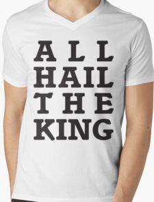 All Hail the King Mens V-Neck T-Shirt