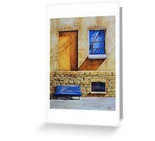 The Golden Door Greeting Card