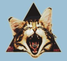 Swag Kitten Triangle by 10813Apparel