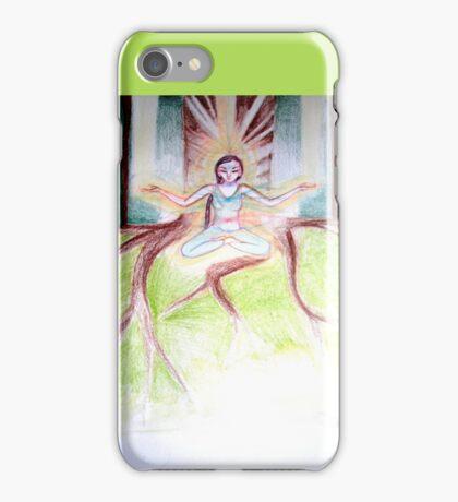 Prana mudra Shakti iPhone Case/Skin