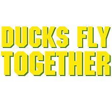 DUCKS FLY TOGETHER by toalston
