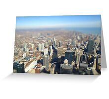 Miniature Chicago Greeting Card