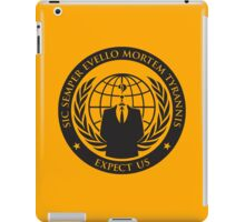 Expect us iPad Case/Skin