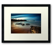 Warriewood Beach Sunset Framed Print