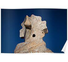 Gaudi Rooftop Poster