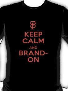 Brandon - Keep Calm T-Shirt