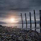 old pier by christopher lonie