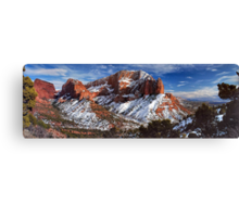 A view of Kolob Canvas Print