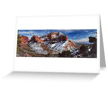 A view of Kolob Greeting Card