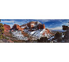 A view of Kolob Photographic Print