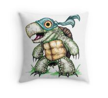 Teenage Mutant Snapping Turtle - Leonidas Throw Pillow