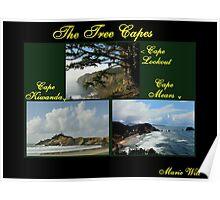 THREE CAPES...OREGON COAST Poster