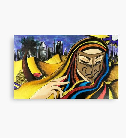 Urban Desertion Canvas Print