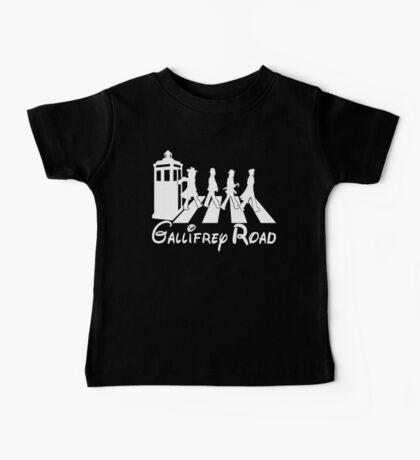 Doctor Who Gallifrey Road Baby Tee