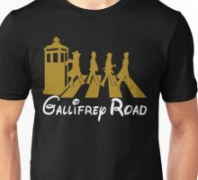 Doctor Who Gallifrey Road Unisex T-Shirt