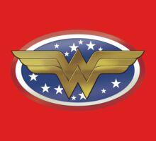 Wonder Woman Logo Kids Clothes