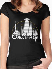 Gallifrey Disney Women's Fitted Scoop T-Shirt