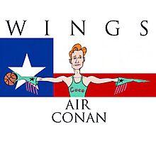 Wings: Air Conan Photographic Print