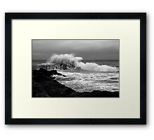 Backwash #1 Framed Print