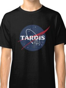 Tardis In Space Doctor Who Classic T-Shirt