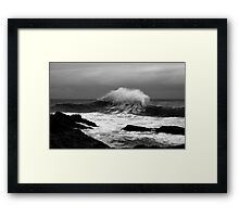 Backwash #2 Framed Print