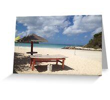 Tortola Greeting Card