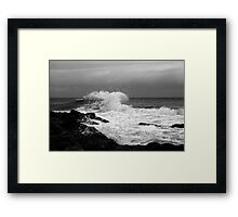 Backwash #3 Framed Print