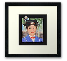 Mary's Poppin out.. Framed Print