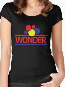 Vintage Wonder Bread Women's Fitted Scoop T-Shirt