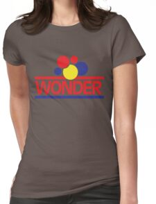 Vintage Wonder Bread Womens Fitted T-Shirt
