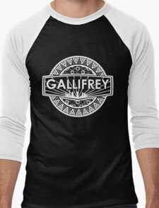 Gallifrey University Men's Baseball ¾ T-Shirt