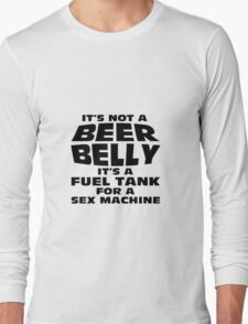 its not a beer belly Long Sleeve T-Shirt