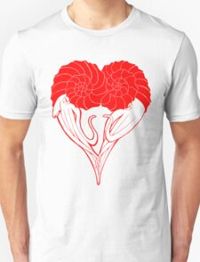 Ammonite Amore (Red) T-Shirt