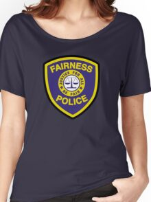Fairness Police Women's Relaxed Fit T-Shirt