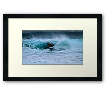 I Just Love To See A Woman In A Barrel Framed Print