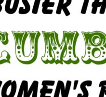 Busier than a Cucumber Sticker