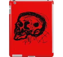 Scull Profile in Black iPad Case/Skin