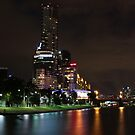 City over the Yarra. by Jeanette Varcoe.