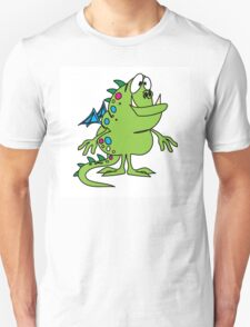 Green cute cartoon dragon T-Shirt