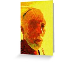 IMPRESSION OF THE ARTIST. Greeting Card