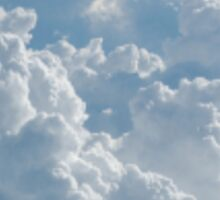 Heart of clouds Sticker