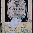 Mural on O'Brien's Bar, Graiguenamanagh, County Kilkenny, Ireland by Andrew Jones