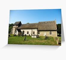 St Mary's Church, Uggeshall Suffolk Greeting Card