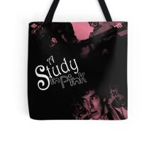 A Study In Pink Tote Bag