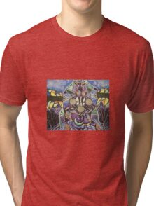 Mask the pain Tri-blend T-Shirt