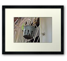 Time and Dead Framed Print