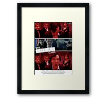 The Great Game Framed Print