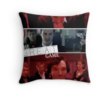 The Great Game Throw Pillow