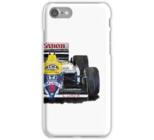 Williams F1 FW11 - 1987 iPhone case iPhone Case/Skin