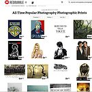 all time popular photography photographic prints - of course! by Mel Brackstone